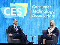 07 January 2020 - Las Vegas, NV - Ivanka Trump. Presidential Advisor Ivanka Trump joins the Keynote stage at the 2020 Consumer Electronics Show (CES) in Las Vegas. Photo Credit: MJT/AdMedia