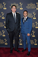 NEW YORK CITY - MAY 8:  John Laguna and Mariano Trujillo attend the Sports Emmy Awards at Jazz at Lincoln Center's Frederick P. Rose Hall in Manhattan on May 08, 2018 in New York City. (Photo by Anthony Behar/FX/PictureGroup)