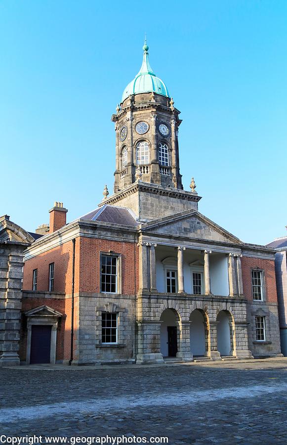 Bedford Tower, Dublin Castle, city of Dublin, Ireland, Irish Republic