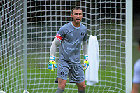United keeper Ruben Parker during the ISPS Handa Premiership football match between Wellington Phoenix Reserves and Hawkes Bay United at Porirua Park in Wellington, New Zealand on Sunday, 10 November 2019. Photo: Dave Lintott / lintottphoto.co.nz