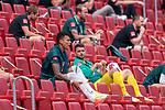 Davie Selke  (SV Werder Bremen #09) schreit auf der Tribeune Stefanos Kapino (Werder Bremen #27) schau<br /> <br /> <br /> Sport: nphgm001: Fussball: 1. Bundesliga: Saison 19/20: 33. Spieltag: 1. FSV Mainz 05 vs SV Werder Bremen 20.06.2020<br /> <br /> Foto: gumzmedia/nordphoto/POOL <br /> <br /> DFL regulations prohibit any use of photographs as image sequences and/or quasi-video.<br /> EDITORIAL USE ONLY<br /> National and international News-Agencies OUT.