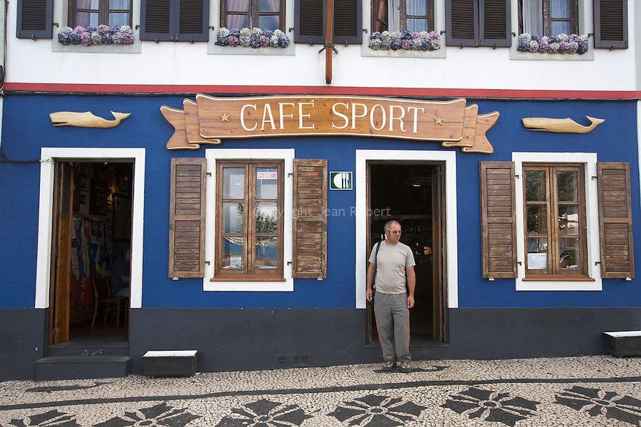 Peter Cafe sport in Horta Harbour, one of the most famous cafe in the world. Faial island