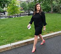 White House Spokesperson Sarah Sanders Speaks to the Media