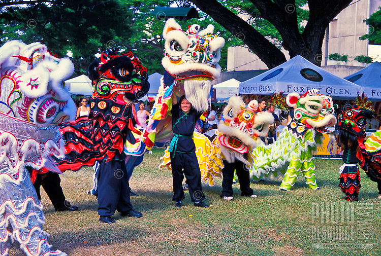 """Scenes from the annual """"""""Taste of Honolulu"""""""" festival include a wide variety of local foods, music and cultural events."""