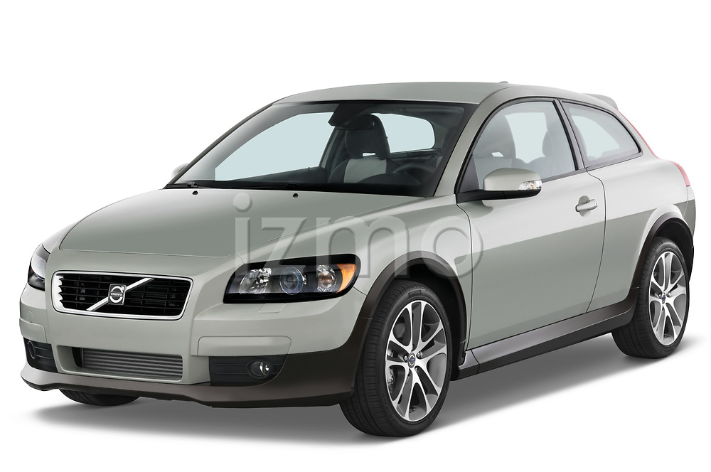 2008 Volvo C30 T5 Version 2.0 2 Door Coupe angular front stock photos of front three quarter view
