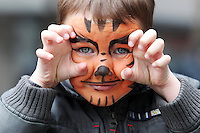 NO REPRO FEE. 6/3/2011. RUSSIAN CULTURAL FESTIVAL. Filip Lagodina aged 5 from Swords is pictured at the Festival of Russian Culture family day at Cows Lane , Temple Bar, Dublin. Picture James Horan/Collins Photos