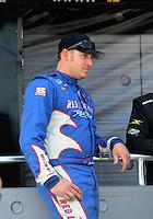 Apr 25, 2009; Talladega, AL, USA; NASCAR Nationwide Series driver John Borneman III prior to the Aarons 312 at the Talladega Superspeedway. Mandatory Credit: Mark J. Rebilas-