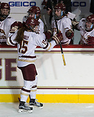 Erin Connolly (BC - 15) - The Boston College Eagles defeated the visiting Boston University Terriers 5-3 (EN) on Friday, November 4, 2016, at Kelley Rink in Conte Forum in Chestnut Hill, Massachusetts.The Boston College Eagles defeated the visiting Boston University Terriers 5-3 (EN) on Friday, November 4, 2016, at Kelley Rink in Conte Forum in Chestnut Hill, Massachusetts.