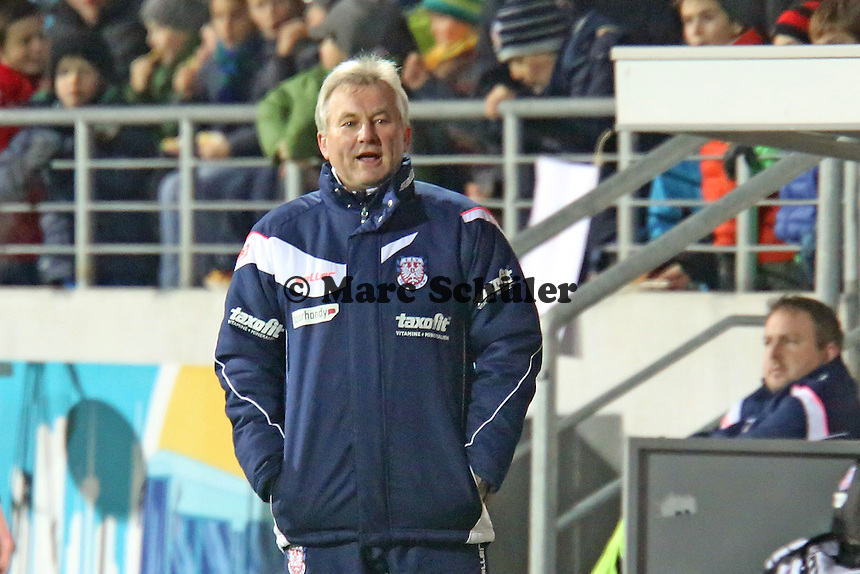 Trainer Benno Möhlmann (FSV) - FSV Frankfurt vs. Arminia Bielefeld, Frankfurter Volksbank Stadion