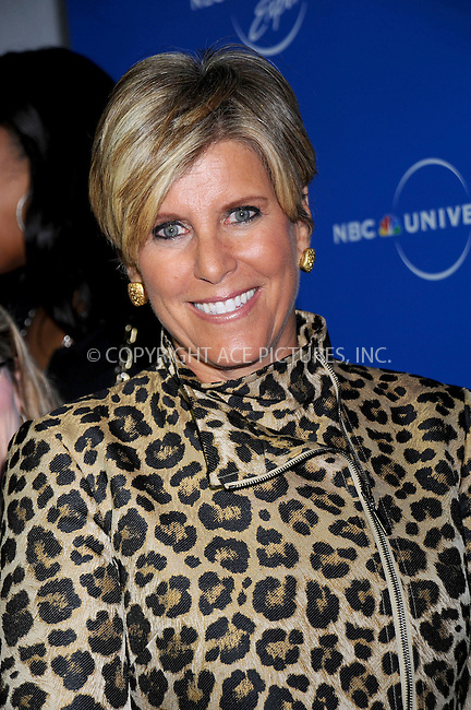 WWW.ACEPIXS.COM . . . . .....May 12, 2008. New York City.....TV personality Suze Orman attends the NBC Universal Experience at Rockefeller Center.  ....Please byline: Kristin Callahan - ACEPIXS.COM..... *** ***..Ace Pictures, Inc:  ..Philip Vaughan (646) 769 0430..e-mail: info@acepixs.com..web: http://www.acepixs.com