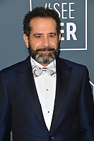 SANTA MONICA, USA. January 12, 2020: Tony Shalhoub at the 25th Annual Critics' Choice Awards at the Barker Hangar, Santa Monica.<br /> Picture: Paul Smith/Featureflash