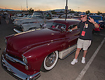 Jim Reeser with his 1951 Mercury Coupe during Hot August Nights at the Grand Sierra Resort on Tuesday, August 2, 2016.