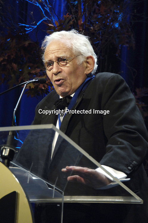 Winner of the Medal for Distinguished Contribution to American Letters Norman Mailer ..at The 2005 National Book Awards on November 16, 2005 at The Marriott Marquis Hotel. ..Photo by Robin Platzer, Twin Images