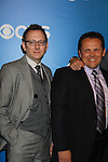 Person of Interest's Michael Emerson, Kevin Chapman  - CBS Upfront 2012 at the Tent in Lincoln Center, New York City, New York. (Photo by Sue Coflin/Max Photos)