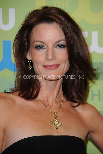 WWW.ACEPIXS.COM . . . . . ....May 21 2009, New York City....Actress Laura Leighton arriving at the 2009 The CW Network UpFront at Madison Square Garden on May 21, 2009 in New York City.....Please byline: KRISTIN CALLAHAN - ACEPIXS.COM.. . . . . . ..Ace Pictures, Inc:  ..tel: (212) 243 8787 or (646) 769 0430..e-mail: info@acepixs.com..web: http://www.acepixs.com
