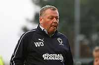 AFC Wimbledon manager Wally Downes during AFC Wimbledon vs Millwall, Emirates FA Cup Football at the Cherry Red Records Stadium on 16th February 2019