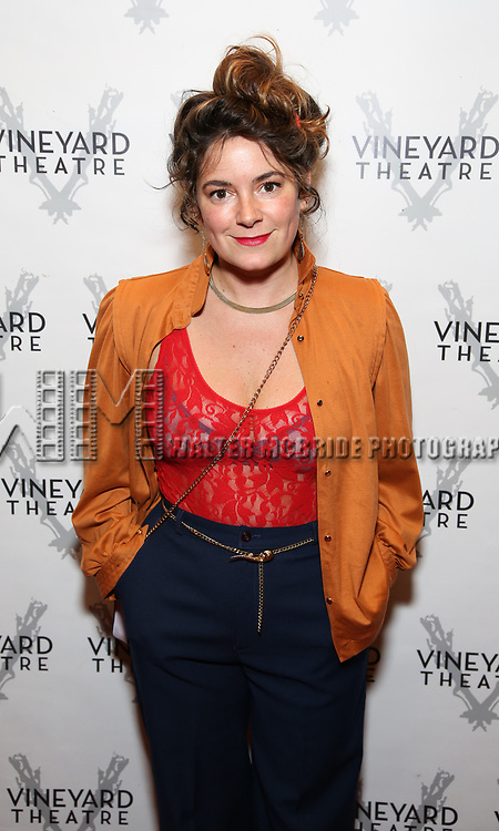 """Jamie Neuman during the Opening Night Celebration for """"Good Grief"""" at the Vineyard Theatre on October 28, 2018 in New York City."""