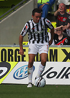 Dougie Imrie in the St Mirren v Hibernian Clydesdale Bank Scottish Premier League match played at St Mirren Park, Paisley on 18.8.12.