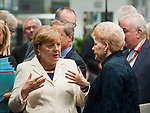 Brussels, Belgium -- October 20, 2017 -- European Council, EU-summit, meeting of Heads of State / Government; here, Angela MERKEL (le), Federal Chancellor of Germany, with Dalia GRYBAUSKAITE (ri), President of Lithuania -- Photo: © HorstWagner.eu