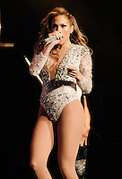 EAST RUTHERFORD, NJ, USA - JUNE 29: Jennifer Lopez performs at 103.5 KTU's KTUphoria 2014 at the Izod Center on June 29, 2014 in East Rutherford, New Jersey, United States. (Photo by Celebrity Monitor)