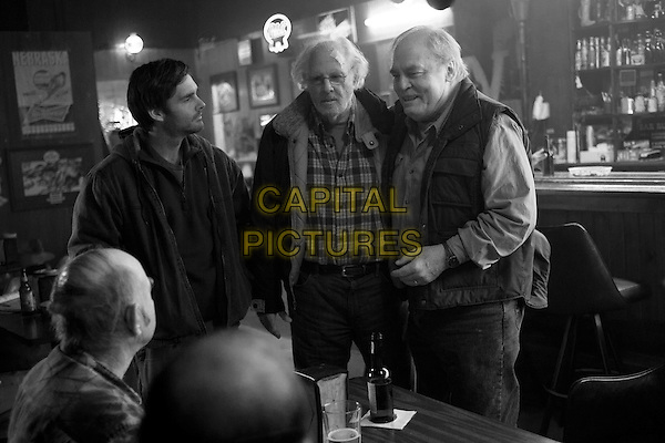 Will Forte, Bruce Dern, Stacy Keach<br /> in Nebraska (2013) <br /> *Filmstill - Editorial Use Only*<br /> CAP/NFS<br /> Image supplied by Capital Pictures