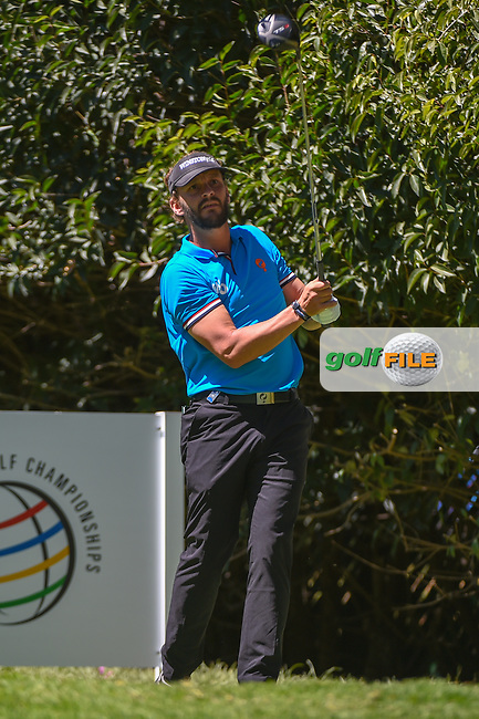Joost Luiten (NLD) watches his tee shot on 2 during round 1 of the World Golf Championships, Mexico, Club De Golf Chapultepec, Mexico City, Mexico. 2/21/2019.<br /> Picture: Golffile | Ken Murray<br /> <br /> <br /> All photo usage must carry mandatory copyright credit (© Golffile | Ken Murray)