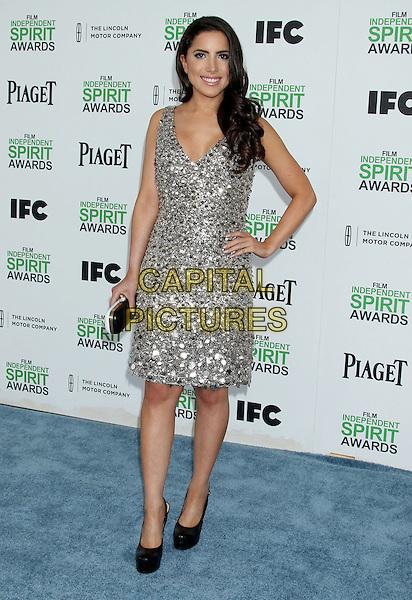 1 March 2014 - Santa Monica, California - Caren Brooks. 2014 Film Independent Spirit Awards held at Santa Monica Beach. <br /> CAP/ADM/RE<br /> &copy;Russ Elliot/AdMedia/Capital Pictures