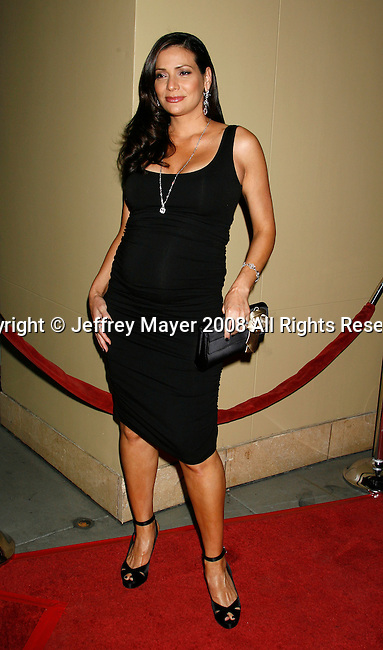 "HOLLYWOOD, CA. - October 07: Actress Constance Marie arrives at the Padres Contra El Cancer's 8th Annual ""El Sueno De Esperanza"" Benefit Gala at the Hollywood & Highland Center on October 7, 2008 in Hollywood, California."