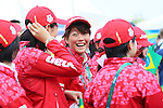 Sachi Mochida (JPN), <br /> AUGUST 2, 2016 : <br /> Welcome ceremony for the Japanese delegation <br /> during the Rio 2016 Olympic Games <br /> at Athlete's Village, in Rio de Janeiro, Brazil. <br /> (Photo by Yohei Osada/AFLO SPORT)