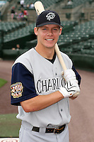 May 26th, 2008:  Second baseman Chris Getz (11) of the Charlotte Knights, Class-AAA affiliate of the Chicago White Sox, poses for a photo before a game at Frontier Field in Rochester, NY.  Photo by:  Mike Janes/Four Seam Images