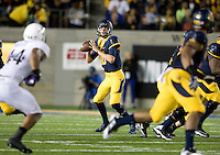 Jared Goff of California in action during the game against Northwestern at Memorial Stadium in Berkeley, California on August 31st, 2013.  Northwestern defeated CAL, 44-30.