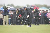 Shane Lowry(AM)winner of the irish open after 3 playoff holes against Robert Rock at the final round at the 3 Irish open in Co Louth Golf Club...Photo: Fran Caffrey/www.golffile.ie..