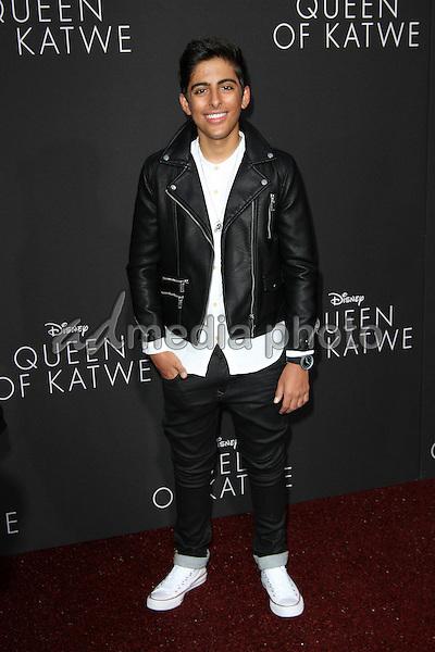 "20 September 2016 - Hollywood, California - Karan Brar. ""Queen Of Katwe"" Los Angeles Premiere held at the El Capitan Theater in Hollywood. Photo Credit: AdMedia"
