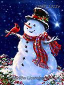 Dona Gelsinger, CHRISTMAS SANTA, SNOWMAN, WEIHNACHTSMÄNNER, SCHNEEMÄNNER, PAPÁ NOEL, MUÑECOS DE NIEVE, paintings+++++,USGE1312V,#x#