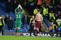 David Martin of West Ham United At the Final Whistle Applause Fan's during Chelsea vs West Ham United, Premier League Football at Stamford Bridge on 30th November 2019