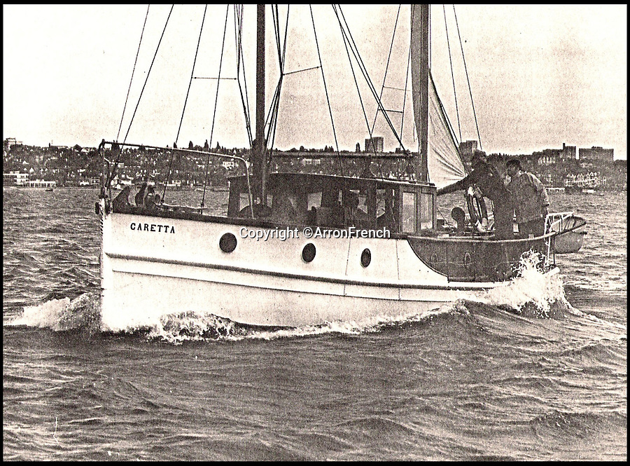 BNPS.co.uk (01202 558833)<br /> Pic: ArronFrench/BNPS<br /> <br /> Plucky Caretta at sea<br /> <br /> A couple who spent £3,000 saving an historic 'little' ship that served in and survived three wars are now set to sell it for £160,000.<br /> <br /> Arron and Tina French found the 40ft Caretta in a run-down and rotten state in a marina where it had languished for almost 20 years.<br /> <br /> They bought it for £2,200 and remarkably spent £1,000 and four months restoring it to its former 19th century glory.<br /> <br /> They have now decided to sell it and although it has been given a pre-sale estimate of £60,000, they have been told the historic vessel could go for almost three times that figure.