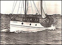 BNPS.co.uk (01202 558833)<br /> Pic: ArronFrench/BNPS<br /> <br /> Plucky Caretta at sea<br /> <br /> A couple who spent &pound;3,000 saving an historic 'little' ship that served in and survived three wars are now set to sell it for &pound;160,000.<br /> <br /> Arron and Tina French found the 40ft Caretta in a run-down and rotten state in a marina where it had languished for almost 20 years.<br /> <br /> They bought it for &pound;2,200 and remarkably spent &pound;1,000 and four months restoring it to its former 19th century glory.<br /> <br /> They have now decided to sell it and although it has been given a pre-sale estimate of &pound;60,000, they have been told the historic vessel could go for almost three times that figure.