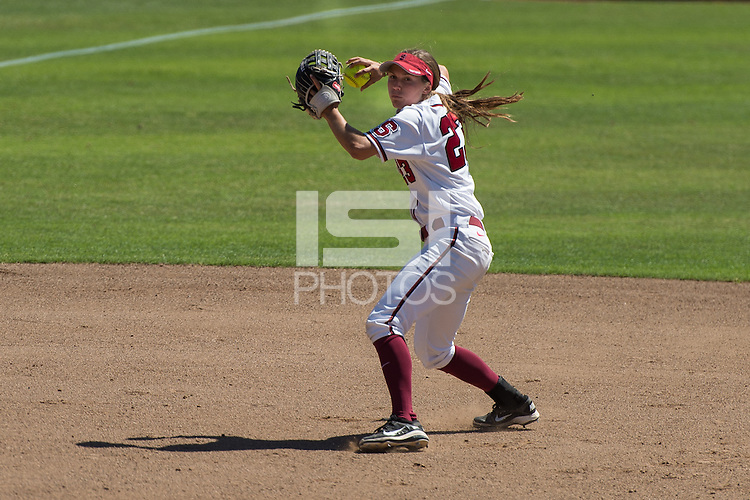 Stanford, CA, March 29, 2015<br /> Stanford Women's Softball vs.Utah. Stanford lost 7-2.