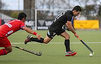 Kane Russell. International Hockey, Blacksticks Men v Japan, TET Multisport Centre, Stratford, New Zealand. Saturday 12 October 2019. Photo: Simon Watts/www.bwmedia.co.nz/HockeyNZ