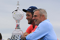 Jon Rahm (ESP) winner of the Irish Open at LaHinch Golf Club, LaHinch, Co. Clare on Sunday 7th July 2019.<br /> Picture:  Thos Caffrey / Golffile<br /> <br /> All photos usage must carry mandatory copyright credit (© Golffile | Thos Caffrey)