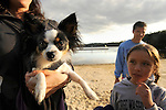 Family with Papillion at Eagles Mere Lake.