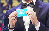 Francesco Totti hat Deutschland gezogen - 30.11.2019: UEFA EURO2020 Auslosung, Romexpo Bukarest, DISCLAIMER: UEFA regulations prohibit any use of photographs as image sequences and/or quasi-video.