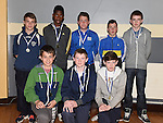 Under 15 players pictured at Ardee Celtic underage awards night in Ardee Parish Centre. Photo:Colin Bell/pressphotos.ie