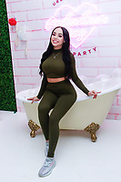 NEW YORK, NY - FEBRUARY 5: Karina Seabrook  at Urban Skin RX Valentine's Day Spa Party hosted by Eva Marcille and Rachel Roff at Pure Space  on February 5, 2019 in New York City. <br /> CAP/MPI/DC<br /> ©DC/MPI/Capital Pictures