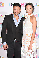 Peter Andre and wife, Emily<br /> attends the 2016 Lorraine High Street Fashion Awards held at the Grand Connaught Rooms, Holborn, London.<br /> <br /> <br /> ©Ash Knotek  D3119  17/05/2016