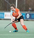 Den Haag - Hoofdklasse hockey dames, HDM-GRONINGEN  (6-2).  Evaline Janssens (Gron.)  COPYRIGHT KOEN SUYK