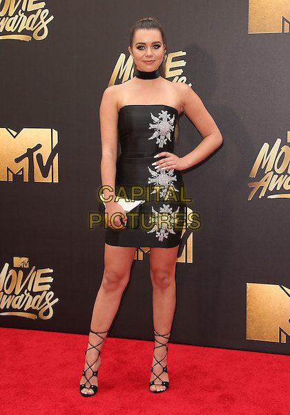 09 April 2016 - Burbank, California - Sierra Furtado. 2016 MTV Movie Awards held at Warner Bros. Studios. <br /> CAP/ADM/SAM<br /> &copy;SAM/ADM/Capital Pictures