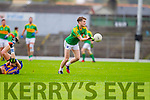 Robert Wharton South Kerry in Action against  Kenmare in the County Senior Football Semi Final at Fitzgerald Stadium Killarney on Sunday.