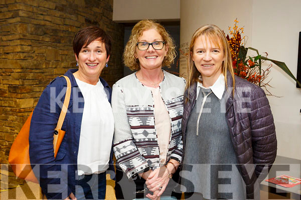 Enjoying the Mary Coughlan  Concert at Siamsa Tire on Friday were Theresa Richardson, Siobhan Cadogan and Colette O'Sullivan