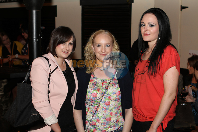 Ruth Corrigan, Fiona Lee-Gargan and Emma Hearty in McPhails...Photo NEWSFILE/Jenny Matthews.